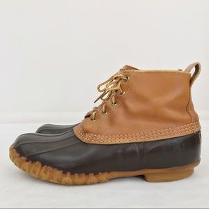 L.L. Bean Vintage Leather Duck Boots